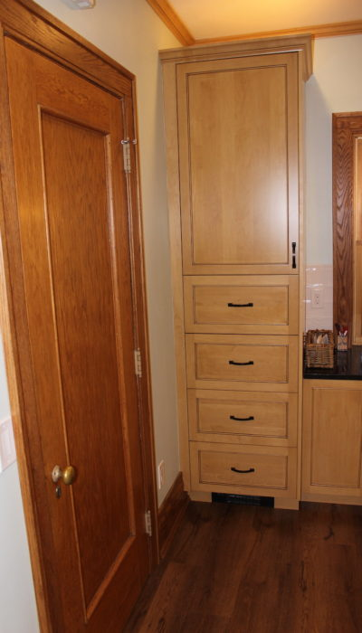 Kitchen tall cabinet.